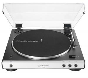 Виниловый проигрыватель Audio-Technica AT-LP60X Bluetooth White