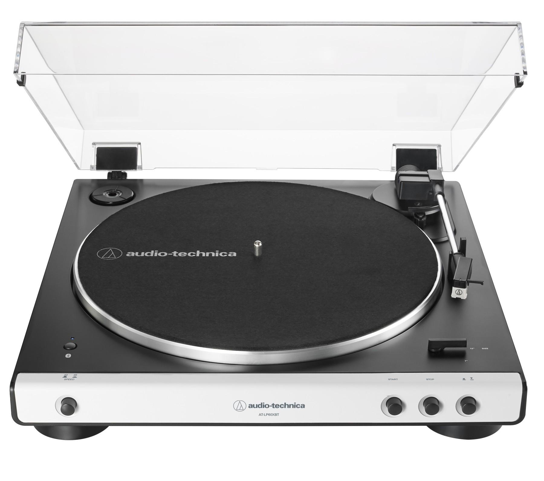 Виниловый проигрыватель Audio-Technica AT-LP60X Bluetooth White -