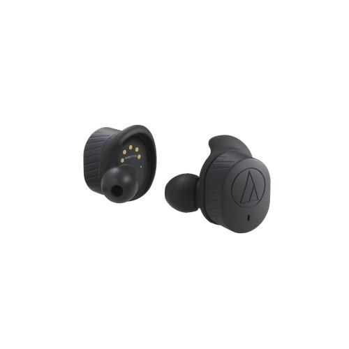 Беспроводные наушники Audio-Technica ATH-SPORT7TWBK -