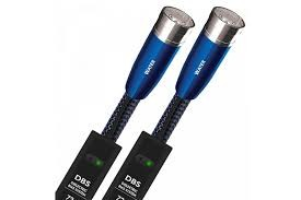 Кабель AUDIOQUEST Pair 0.5m WATER 72V DBS XLR