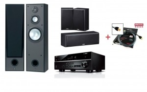 Домашний кинотеатр Yamaha Kino SYSTEM 485 (RX-V485 + NS-8390 + NS-P51) Black