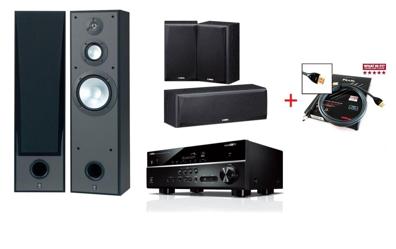Домашний кинотеатр Yamaha Kino SYSTEM 485 (RX-V485 + NS-8390 + NS-P51) Black -