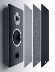 Настенная акустика Heco Ambient 22F Black Satin