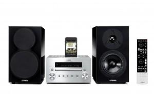 Минисистема Hi-Fi Yamaha MCR-550 Silver + Piano Black