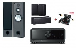 Домашний кинотеатр Yamaha Kino SYSTEM 4VA (RX-V4A + NS-8390 + NS-P51) Black