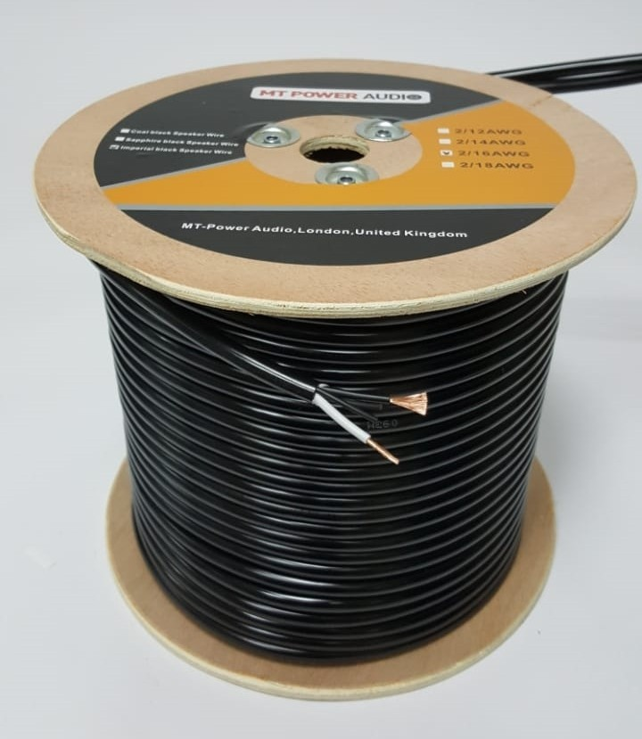 Акустический кабель MT-Power Imperial black Speaker Wire (2 x 2,5 mm2) -