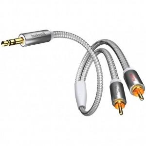 Межблочный кабель Inakustik Premium 3,5mm Mini Jack > 2 x RCA 5,0m