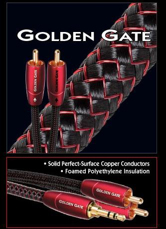Кабель AudioQuest Golden Gate 3.5mm/RCA (0,6 м) -