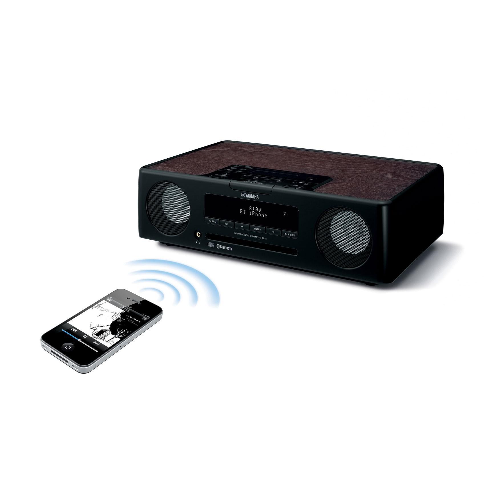 Минисистема Hi-Fi Yamaha TSX-B232 Black -