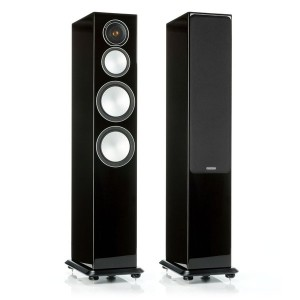 Напольная акустика Monitor Audio Silver 8 Hight Gloss Black