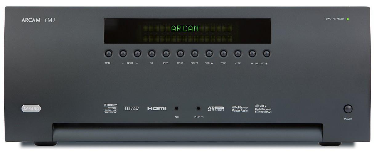 AV ресивер Arcam FMJ AVR450 - Black