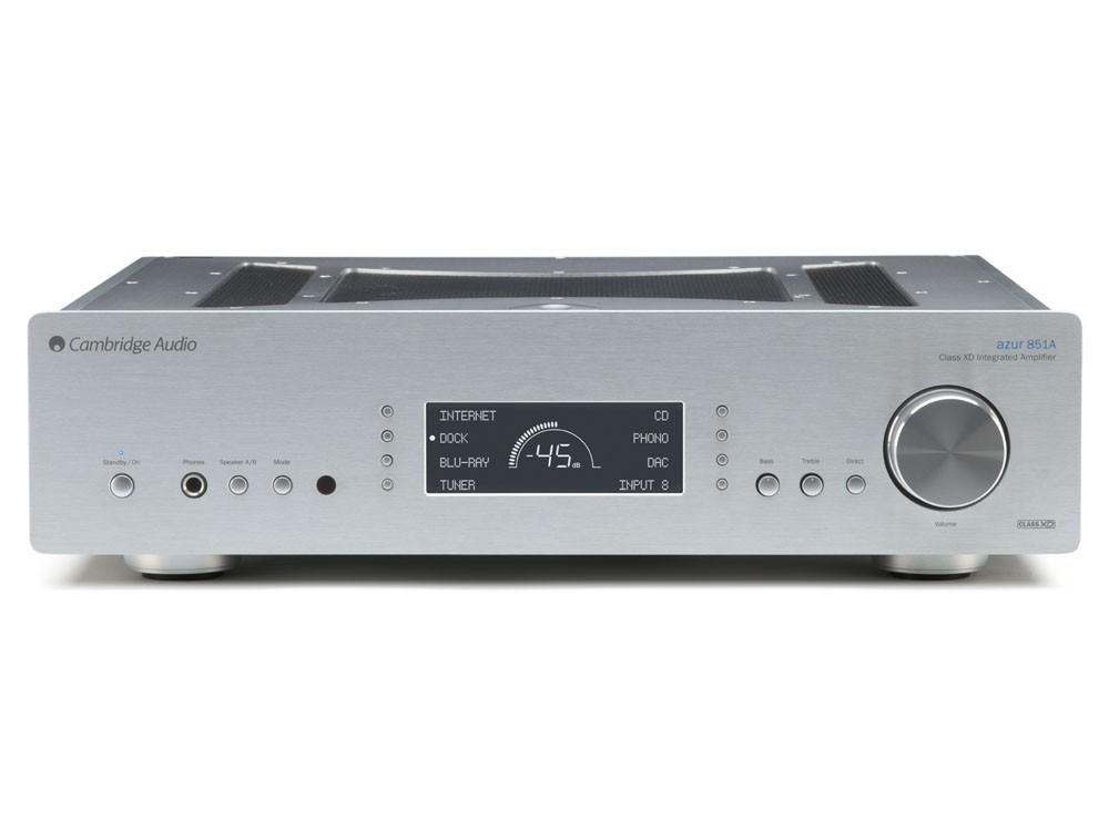 Стереоусилитель Cambridge Audio Azur 851A - Silver