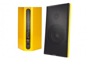 Monster Clarity HD Monitor Speakers Yellow