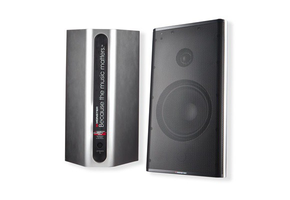 Monster Clarity HD Monitor Speakers Silver -
