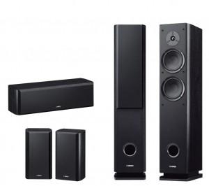 Комплект акустики Yamaha Set NS-F160+NS-P160 Black