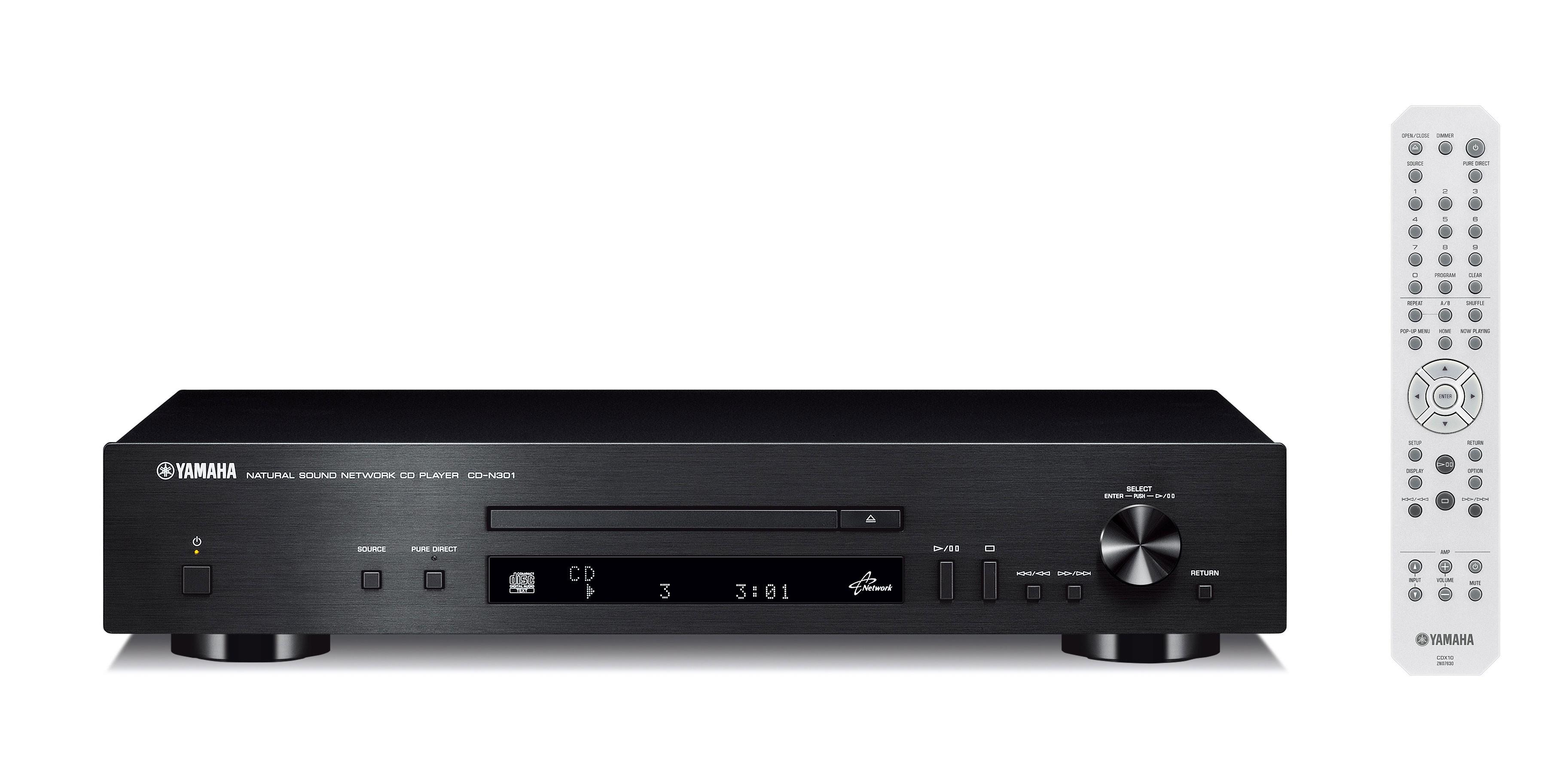 CD-проигрыватель Yamaha CD-N301 Black -