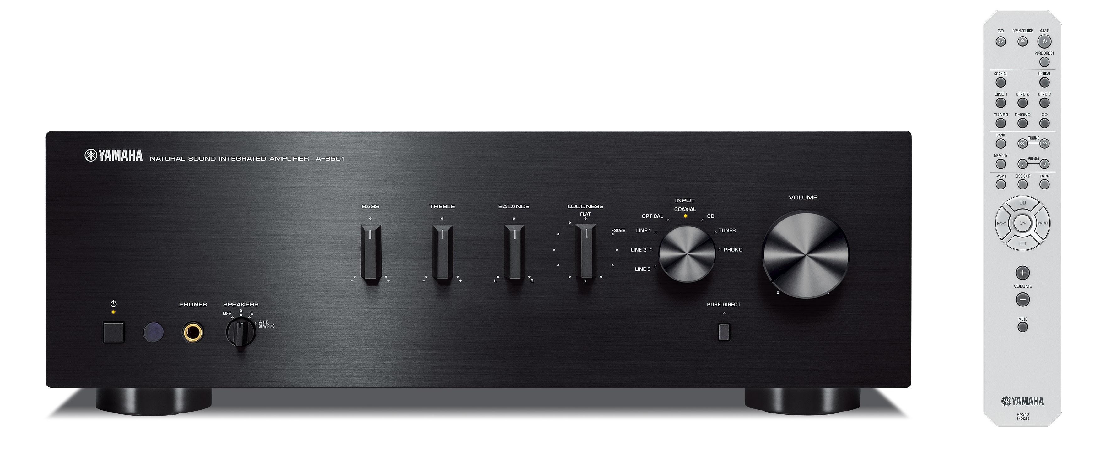 Интегральный усилитель Yamaha A-S501 Black -