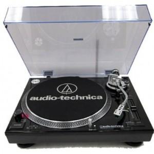 Виниловый проигрыватель Audio-Technica AT-LP120 USB Black