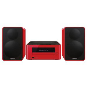 Минисистема Hi-Fi Onkyo CS-265 Red