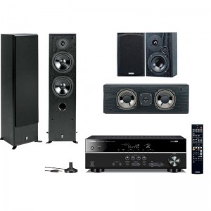 Домашний кинотеатр Yamaha Movie SET AV(RX-V377 + NS-50F + NS-P60) Black