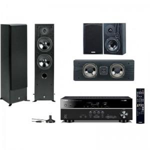 Домашний кинотеатр Yamaha Movie SET AV(RX-V377 + NS-50F + NS-P60) Black