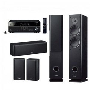 Домашний кинотеатр Yamaha Kino SYSTEM 483 (RX-V481 + NS-F160 + NS-P160) Black