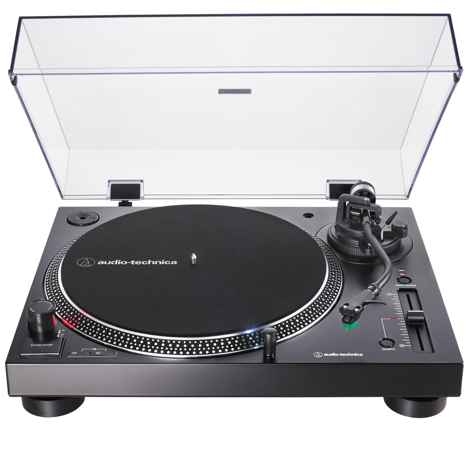 Виниловый проигрыватель Audio-Technica AT-LP120XUSBBK -